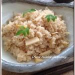 旬のごはんレシピ『合わせ調味料で味付け簡単☆筍ごはん♪』