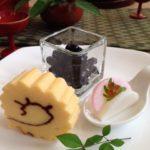 かまぼこ・黒豆・伊達巻のお盛りつけと器えらび♪重箱なしでもお正月。