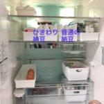 美人冷蔵庫プライベート出張レッスン・冷蔵室編〜ひきわり納豆派と普通の納豆派