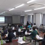 横浜市中田地区連合会  「食品ロスと冷蔵庫収納」講演