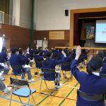 東京都稲城第四中学校 「食べものとSDGs」講演