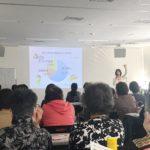 横浜市金沢区ヘルスメイト様100名 講演会「防災と冷蔵庫収納」